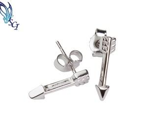 Arrow Stud Earrings Sterling Silver, Arrows, Love Arrow Earrings, Arrow Earrings, Hunter Jewelry, Woodland Earrings, BOHO Jewelry, SER330