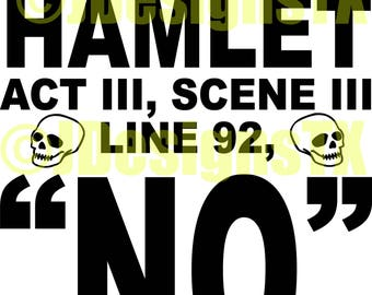 To Quote Hamlet SVG