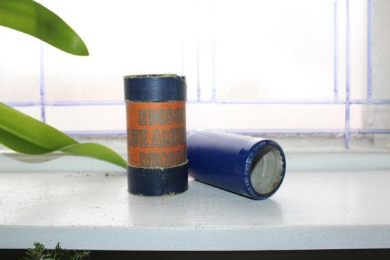 Antique Edison Cylinder Record 2447 Massa's In De Cold Cold Ground