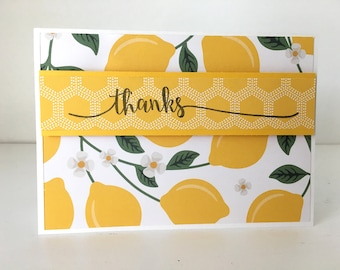 Lemon Thank You Cards (Set of 2)