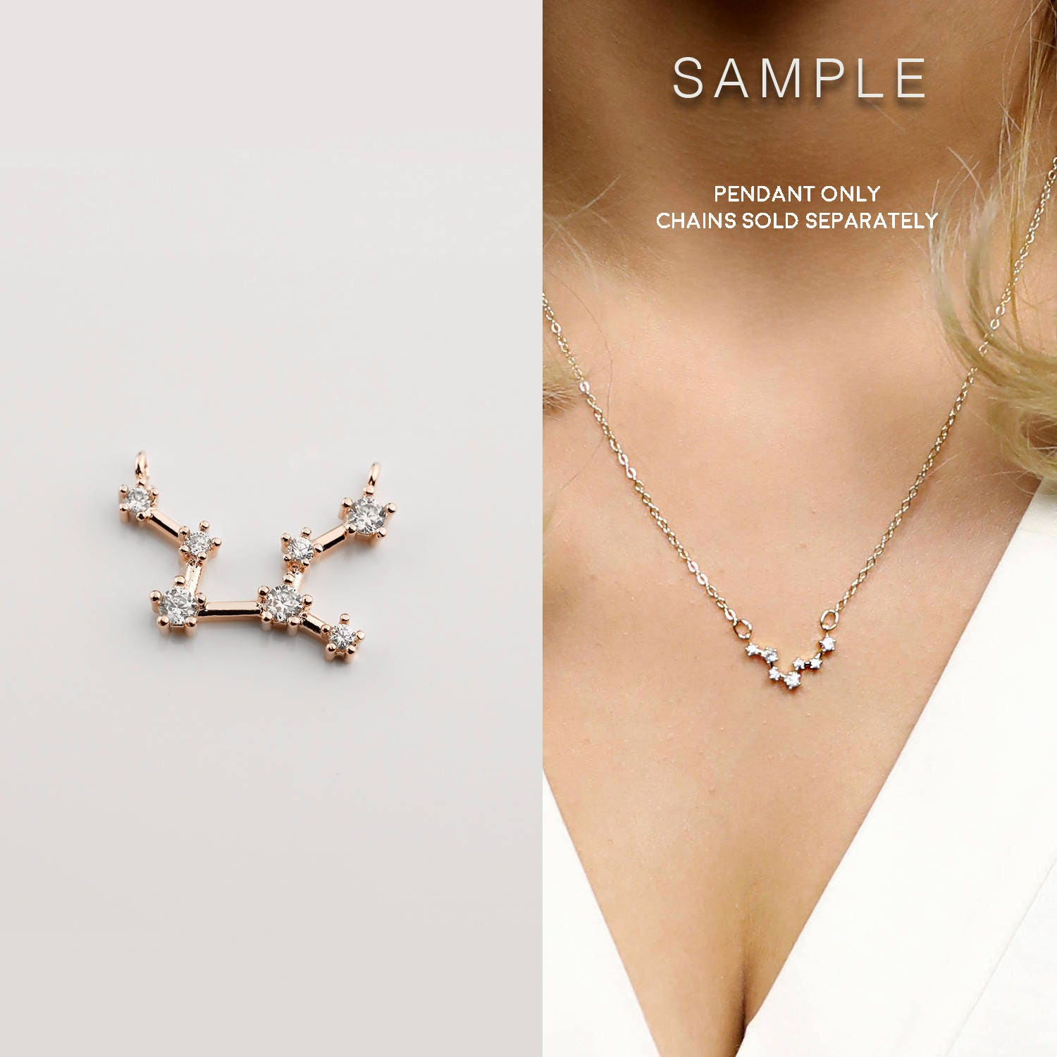 thatch constellation necklace catalog virgo constellations