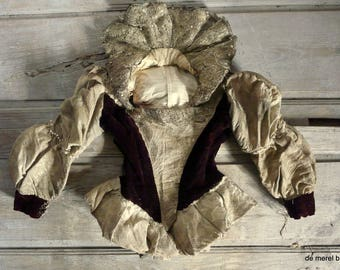 antique unique theatre costume renaissance tudor style