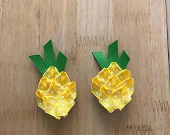 Pineapple Hair Clip