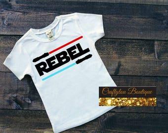 Disney Star Wars Inspired Rebel shirt