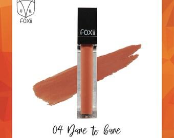 Dare to Bare - moisturising matte lipstick : limited stock