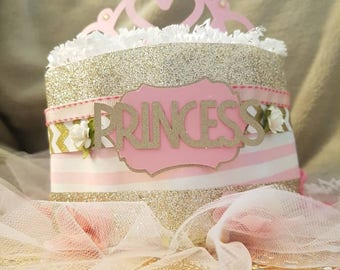 Mini Princess Diaper Cake