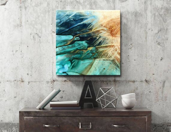 PRISMATIC SERIES #1017, Acrylic Painting, Artist-Signed, Abstract Giclee Wall Art Print, Modern Home Decor, Contemporary Art
