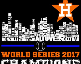 Digi-tizers World Series CHAMPIONS Astros Houston Skyline (SVG Studio V3 JPG)