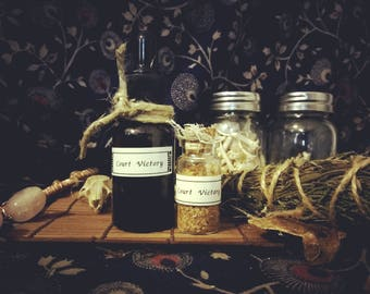 Court Victory Herbs & Annointing Oil | OccultCornerStore