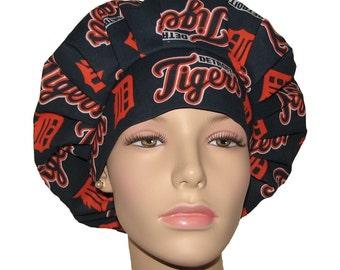 Scrub Hats - Detroit Tigers Fabric