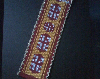 Journey Bookmark Cross Stitch Pattern
