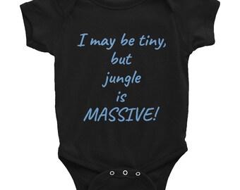 I may be tiny... (range of colours) Infant Bodysuit