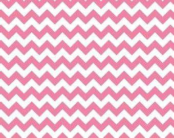 Hot Pink Small Chevron, from Riley Blake Designs