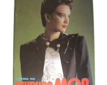 Soviet Fashion magazine Fashion 1990 Moscow Soviet fashion Fashion of the USSR 1990