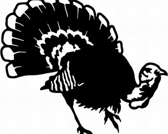 Turkey Window Decal/ Turkey Decal/Turkey/ Turkey Hunting Decal/ Turkey Hunting