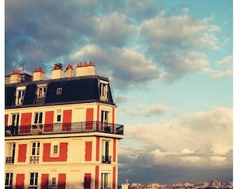Paris Photograph - Paris Print - Fine Art Photograph - Shadow Of Sacre Coeur- French Decor - Oversized Art - Home Decor - Paris Print - Bock