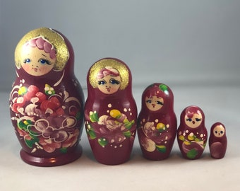 Russian Nesting Dolls,Hand Painted Nesting Dolls
