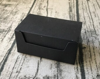 40x Black Paper Boxes Bomboniere Favour Box Wedding Birthday Party Favor Anniversary Gift Packing Box Chocolate Cookie Slice Candy Boxes