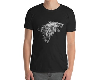 game of thrones got winter is coming house stark tshirt shirt T-shirt gift