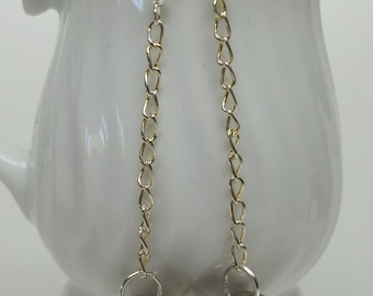 vintage silver tone ball button earrings,silver tone ball button women eco-friendly reclaimed