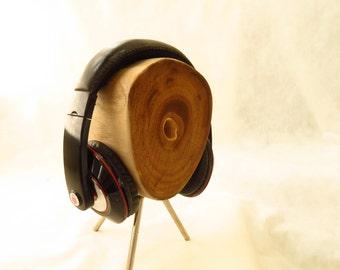 Art headphone ***Wall-E***   Driftwood headphone stand natural and modern headphone holder    ** one of a kind **  headphones hanger