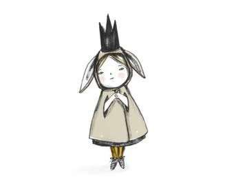 Bitty Bunny Girl