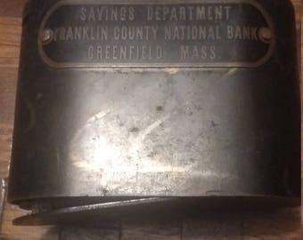 Vintage Traveling Tellar Bank