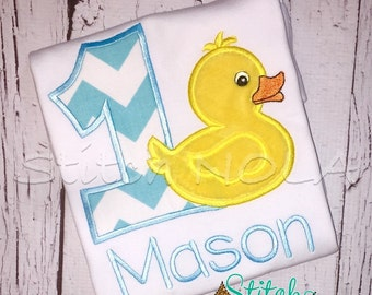 Duck Birthday Shirt or Bodysuit