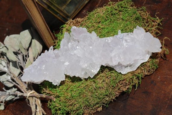 Large Amethyst Flower 15 oz, Raw Amethyst, Purple Crystal, Rare Amethyst Crystal, Amethyst Healing Crystal, Reiki, Yoga Decor, FREE SHIPPING