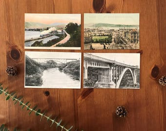 New Zealand Vintage Postcards circa 1850-1900