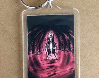 BLOOD keyring