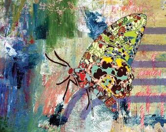 Abstract art, butterfly art print, abstract wall decor, butterfly decor, bathroom art, beach art, graffiti art, butterfly print, modern art