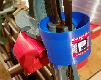 Primer catcher for Pacific Deluxe and Bair reloading presses