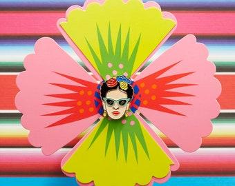 Artista de Mexico with Sunglasses Pin, Soft Enamel Pin, Jewelry, Art, Artist, stocking stuffer, Gift (PIN67)
