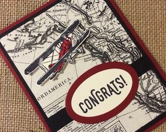 Congratulations Cards - Handmade Greeting Cards - Stampin Up Greeting Cards - Personalized Greeting Cards