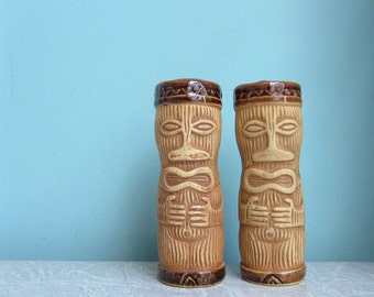 Tiki Salt and Pepper Shakers - 61 Design PMP
