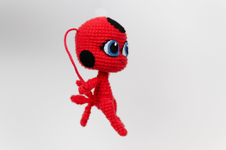 Tikki Amigurumi Ladybug Amigurumi Ladybug Mu Eca Tikki Mu Eca # Muebles De Lady Lee
