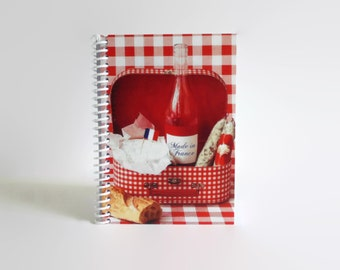 Picnic Notebook A6 Spiral Bound