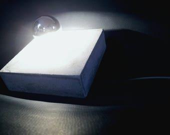 CONCREATIONS - Concrete mirror light