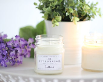 Lilac | 100% Natural Soy Candle | Hand-Poured