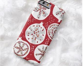 white pomegranate iphone 5s 8 plus case, iphone 5s X case, pomegranate iphone 8 se 8 plus case, iphone 6s 7 plus case, iphone X, iphone 6s,