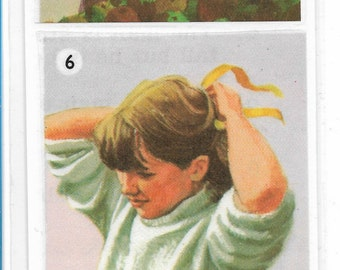 Handmade Vintage Ladybird Book Illustrations Bookmark - The Perfect Child