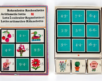 Vintage game-Count lotto