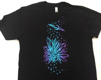 Cosmic Space Crystals T-shirt