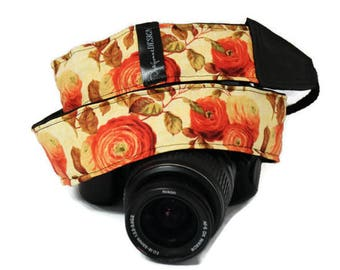 Camera Strap - Custom Strap for Nikon, Canon - Photographer Strap - Photographer Gift - Neck Strap for Her