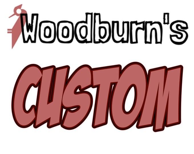 Rustic Natural Frames - Woodburn\'s Stencil Shop