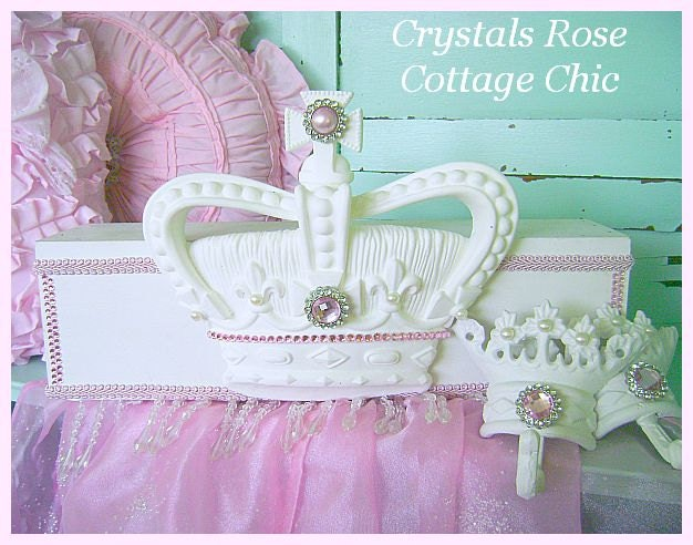 ?zoom  sc 1 st  Etsy & Pink Princess Bed Crown Canopy Fleur De Lis Teester and
