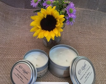 Eucalyptus Spearmint Young Living Essential Oils Stress Release Soy Candle