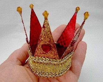 Crowns-Tiaras- Cake Toppers-and for Dolls(Made to Order by Request)