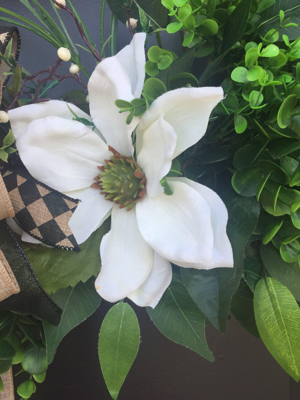 Magnolia Wreath Boxwood Wreath Grapevine Wreath Year Round